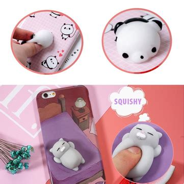 Squishy Book Pile Cat Iphone 6 6s bakeey 3d squishy squeeze rising cat panda soft tpu for iphone 6 6s 6plus