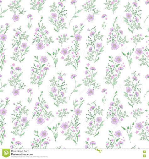 flower pattern on white background small flower pattern vintage floral seamless background