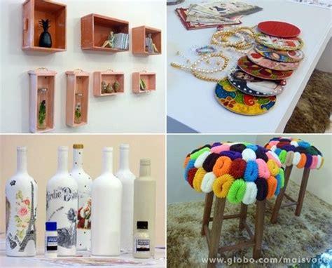 ideias reciclagem decoracao reciclagem pinterest ems