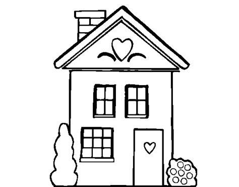imagenes seguidas html desenho de casa con cuori para colorir colorir com