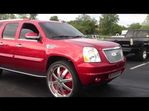 yukon denali xl on 30` floaters `come down sunday`