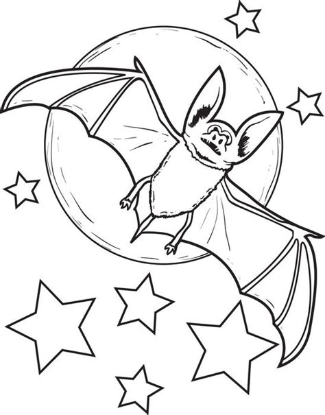 preschool bat coloring page free printable bat coloring page for kids 2