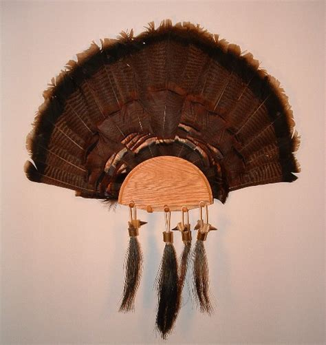 how to mount a turkey fan turkey fan mounts upland artisans upland journal board