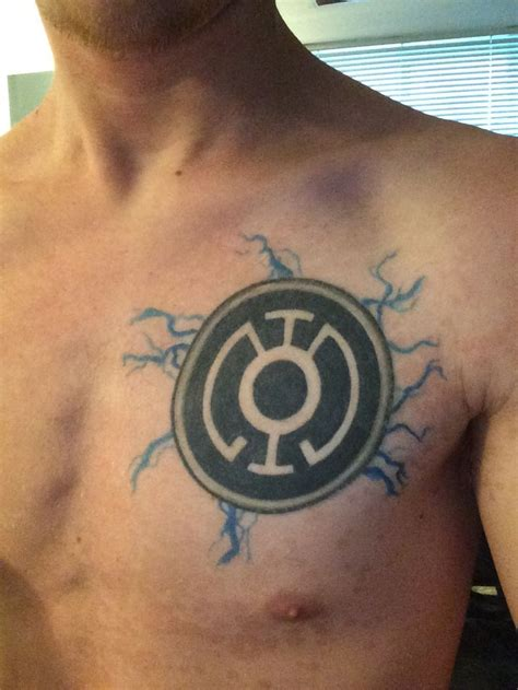 blue lantern corps tatt tattoos pinterest