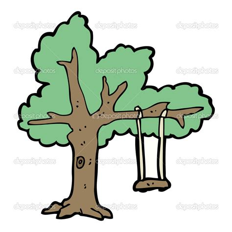 tree swing comic tire swing clipart clipart suggest