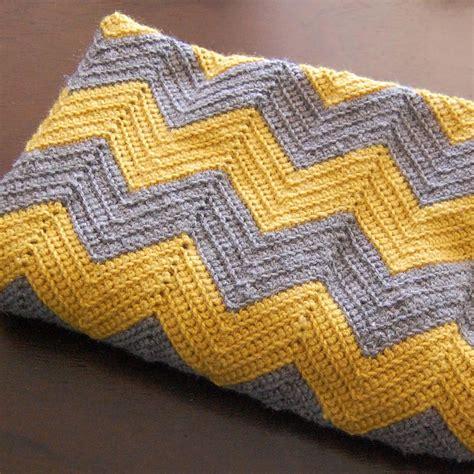 new crochet pattern for baby chevron blanket crochet diy crochet chevron baby blanket yellow dandy