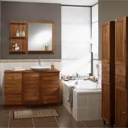 meuble salle de bain teck leroy merlin images