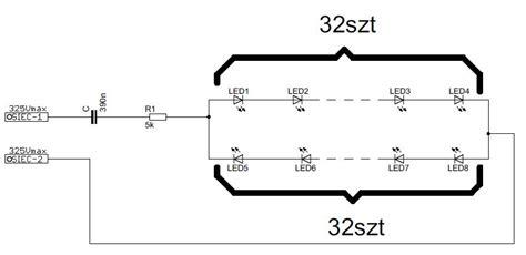 led dioda na 230v dob 243 r kondensatora pod diody led 230v elektroda pl