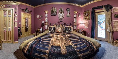 egyptian bedroom the ever after estate s egyptian mummy room king sized fun