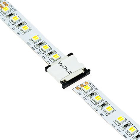 Connecting Led Light Strips 3 Contact 10mm Light Direct Connect For Vct Strips Nfls10 3csd Connectors