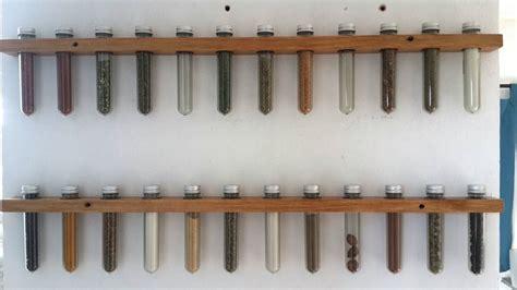 especiero tubos de ensayo especiero de pared tubos de ensayo madera r 250 stico
