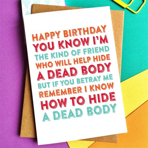 Happy Birthday Sort Of by Happy Birthday I M The Of Friend Card By Do You