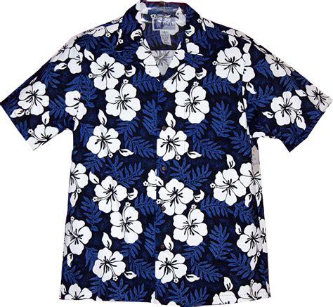 hawaiian shirt leaves light hibiscus blue hawaiian shirt