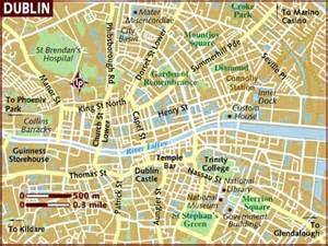 dublin map map of dublin