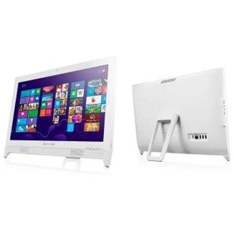 Harga Lenovo C260 ordinateur lenovo c260 20 quot blanc pc tout en un achat