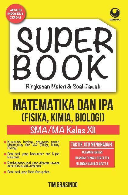 Ringkasan Rumus Rumus Matematika Sma superbook ringkasan materi soal jawab matematika ipa