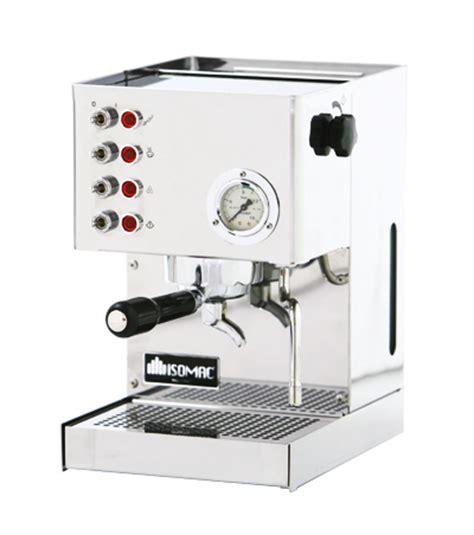 Edelstahl Espressomaschine Polieren isomac venus espressomaschine edelstahl poliert caffe milano