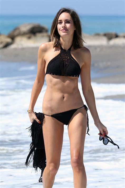 hottest hollywood celebrities on beach louise roe in bikini on the beach in spain 06 04 2015