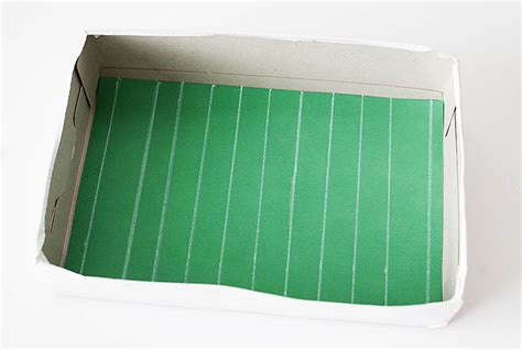 How To Make A Paper Football Stadium - the gallery for gt how to make a paper football field
