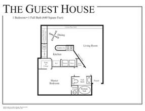 House Plans With Guest House Guest House Floor Plan Studio Apartment