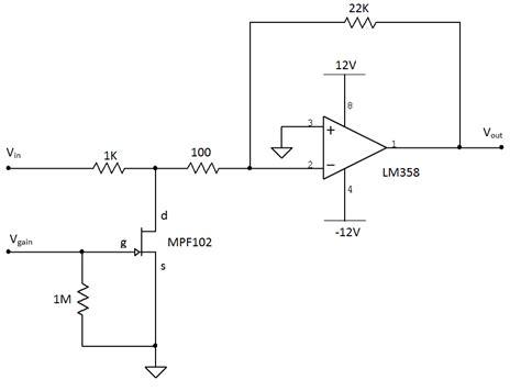 transistor lifier voltage gain diy voltage controlled lifier hackme