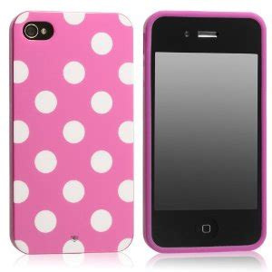 Pink Iphone Cases On The Cheap by Polka Dot Flex Gel For Iphone 4 4s As Low As 1 10