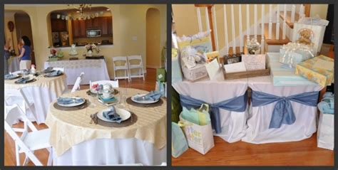 Table Shower Definition by Chic Baby Shower Moments That Define