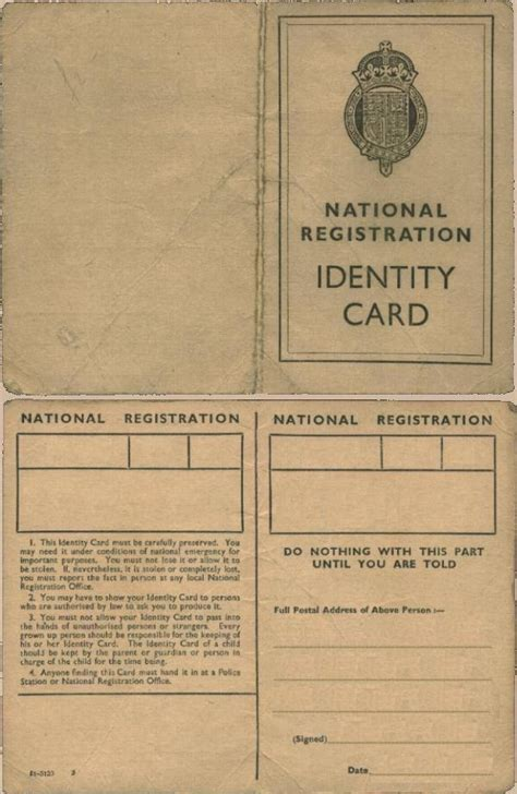 national registration identity card template jewishgen the official of genealogy