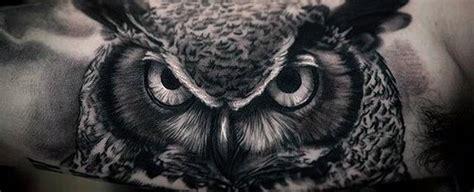 realistic owl tattoo design 40 perseus tattoo designs for men greek mythology ink ideas