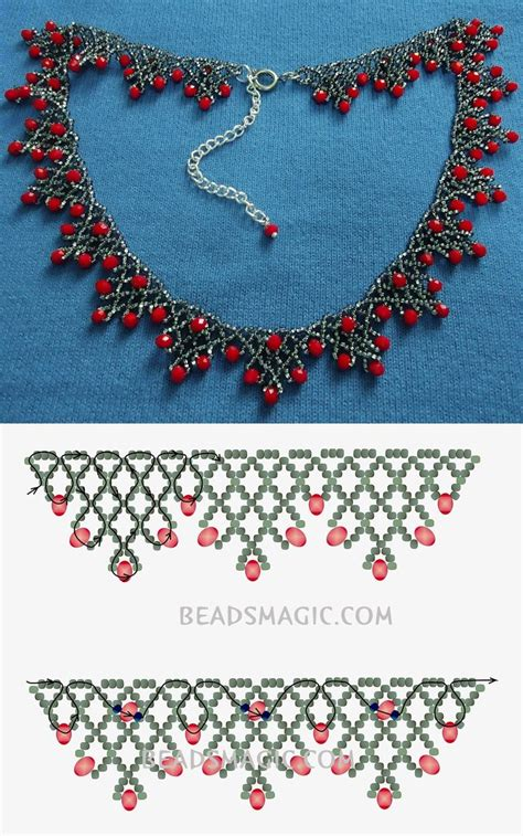 seed bead choker patterns best seed bead jewelry 2017 free pattern for necklace