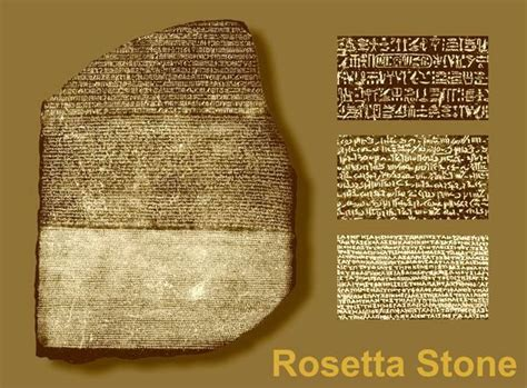 rosetta stone egypt ancient egyptian hieroglyphics the rosetta stone