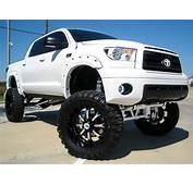 TOYOTA TUNDRA WHITE BADASS OFF ROAD TRUCK  Off Road Wheels