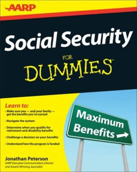 social security for dummies by jonathan peterson