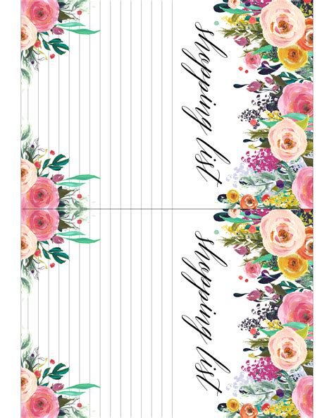 5x7 printable calendar free printable 2018 floral 5x7 calendar the cottage market