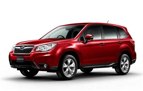 subaru forester red 2018 subaru forester redesign release date and changes