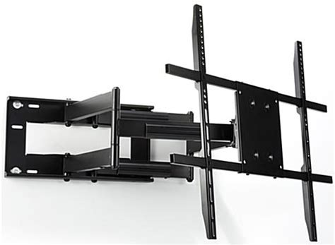 swing tv swing out tv mount heavy duty bracket for large screens