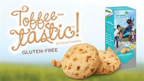 Gluten free girl scout cookies toffee-tastic recipe