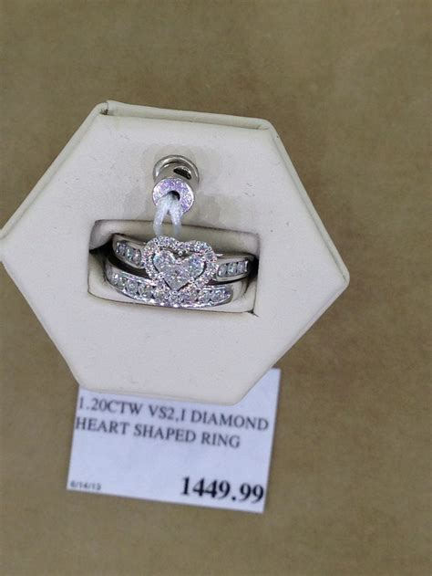 costco wedding ring i am in it s shaped
