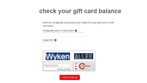 Cvs Gift Card Balance Checker - jcpenney gift card balance check lamoureph blog