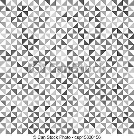 Clipart Vector Of Gray Geometric Texture Seamless Vector