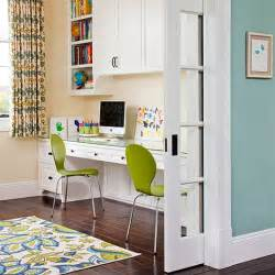 Built In Desk Ideas For Small Spaces Bhg Centsational Style