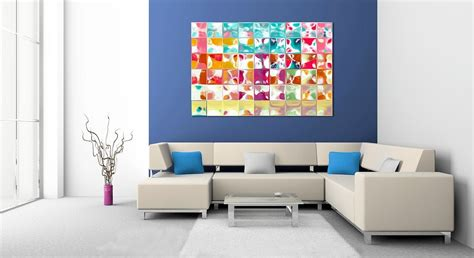 contemporary modern home decor home decorating with modern art