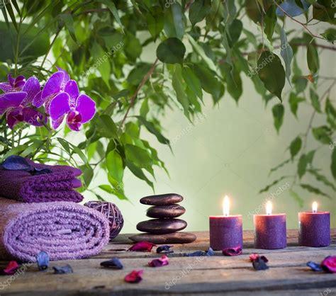 imagenes zen con velas spa bodeg 243 n con zen piedras orqu 237 deas y velas arom 225 ticas