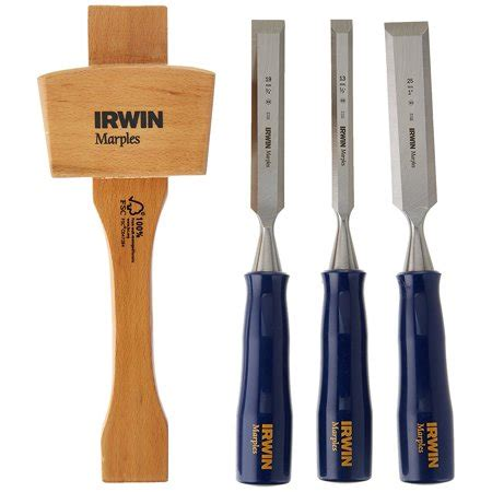 irwin tools   piece woodworking chisel set
