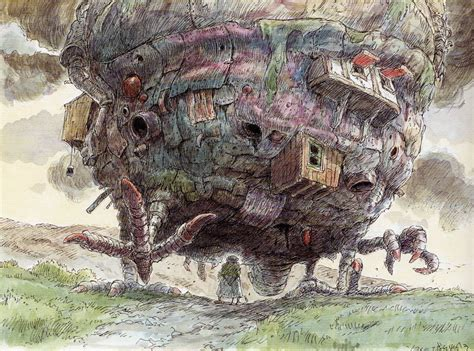 the of howl s moving castle living lines library ハウルの動く城 howl s moving castle 2004