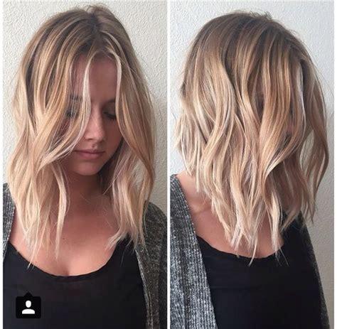 balayage lob 10 balayage hairstyles for shoulder length hair medium