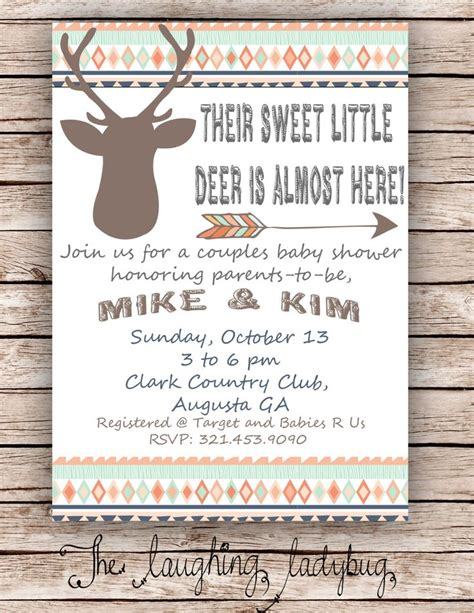 Deer Themed Baby Shower by Deer Baby Shower Shower Deer Shower By