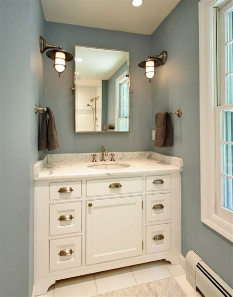 rustic bathroom colors rustic wall sconces shed light on morning evening