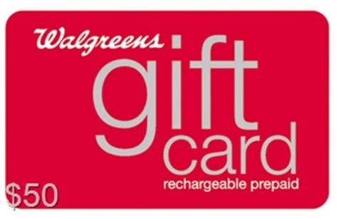 Does Walgreens Have Gift Cards - 50 00 walgreens gift card giveaway couponing as a lifestyle