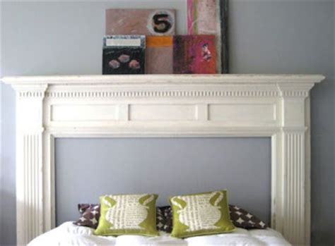 Apartment Therapy Mantle Lovables Mantel Diy Headboard